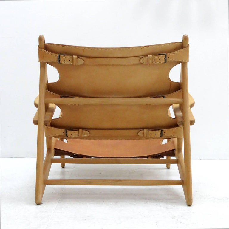 Børge Mogensen 'Hunting' Chair, Model 2229 In Excellent Condition For Sale In Los Angeles, CA