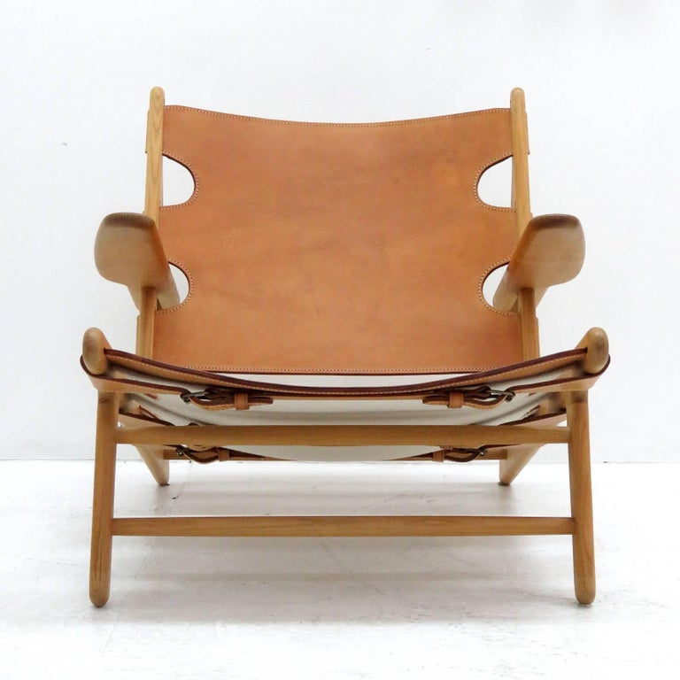 Late 20th Century Børge Mogensen 'Hunting' Chair, Model 2229 For Sale