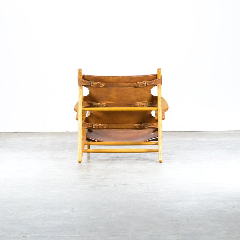 Mid-20th Century Børge Mogensen 'Hunting' Chair, Model 2229 for Fredericia Stolefabrik For Sale