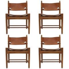 Børge Mogensen 'Hunting' Chairs, Model 3251