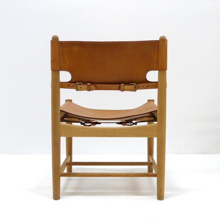 Mid-20th Century Børge Mogensen 'Hunting' Chairs, Model 3237 For Sale
