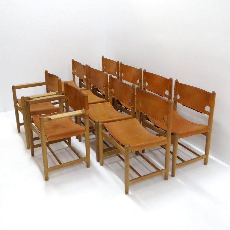 Børge Mogensen 'Hunting' Chairs, Model 3237 For Sale 1