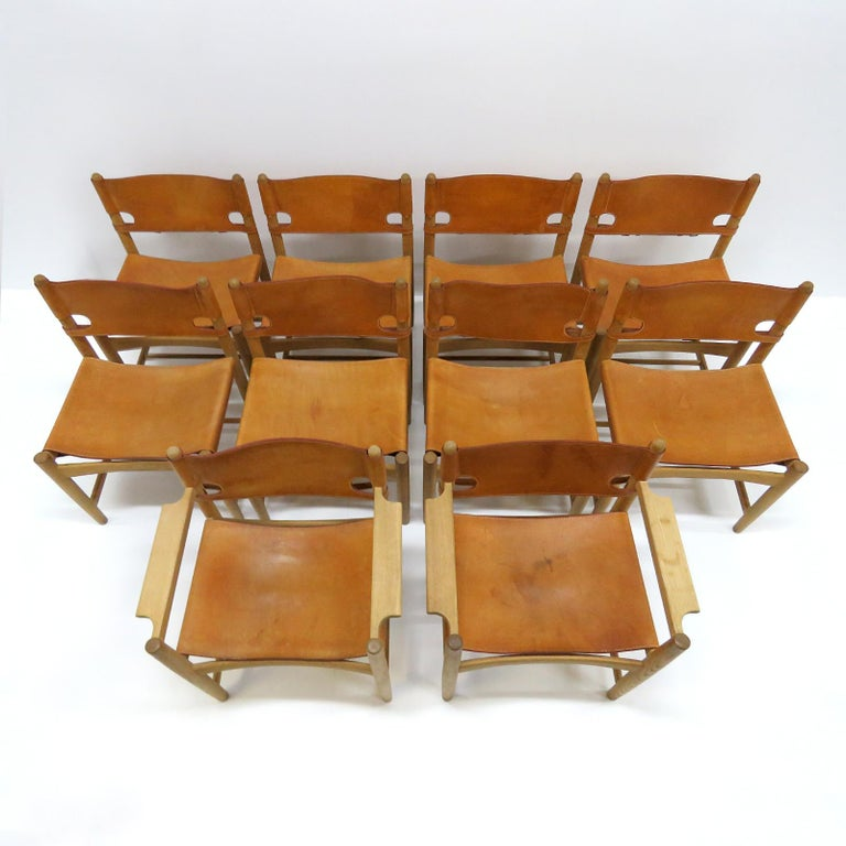 Børge Mogensen 'Hunting' Chairs, Model 3237 For Sale 2