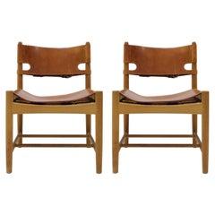Børge Mogensen 'Hunting' Chairs, Model 3237