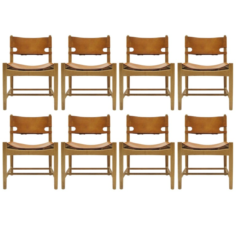 Børge Mogensen 'Hunting' Chairs, Model 3237 For Sale