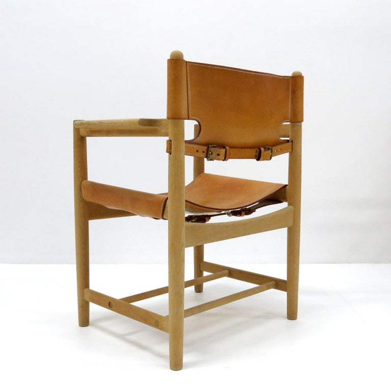 Mid-20th Century Børge Mogensen 'Hunting' Chairs, Model 3238 For Sale