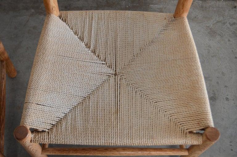 Børge Mogensen J39 Vintage Dining Oak Chair for FDB Mobler Set of 4 14