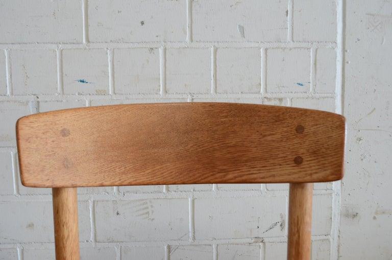 Børge Mogensen J39 Vintage Dining Oak Chair for FDB Mobler Set of 4 16