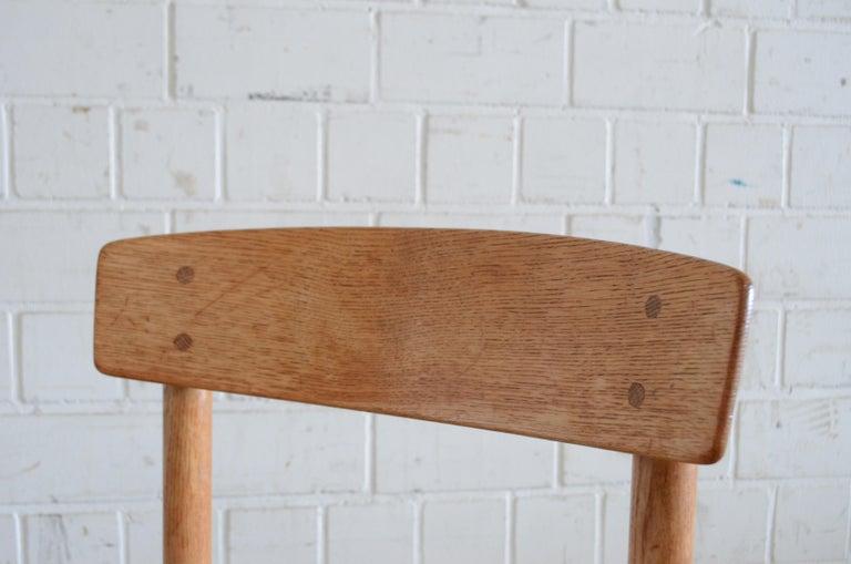 Børge Mogensen J39 Vintage Dining Oak Chair for FDB Mobler Set of 4 18