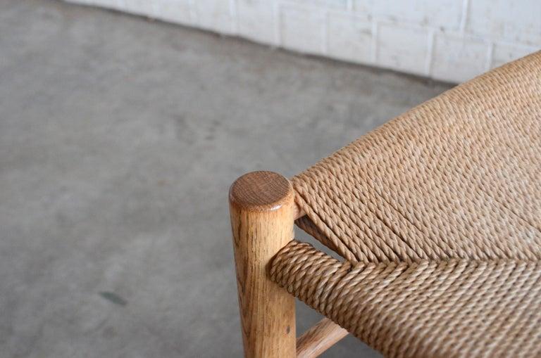 Børge Mogensen J39 Vintage Dining Oak Chair for FDB Mobler Set of 4 19
