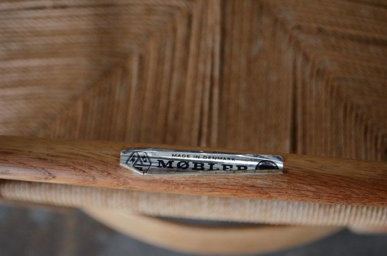 Børge Mogensen J39 Vintage Dining Oak Chair for FDB Mobler Set of 4 20