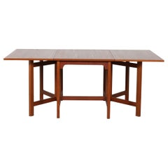 Børge Mogensen Library Table/ Dining Table of Teak by Karl Andersson, Sweden