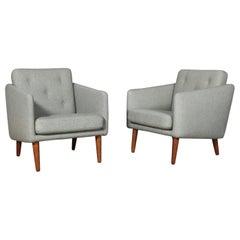 Børge Mogensen Lounge Chair, Model 201