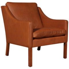 Børge Mogensen Lounge Chair, Model 2207