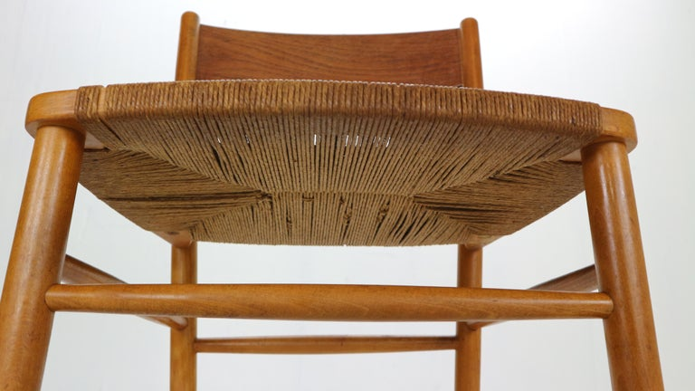 Børge Mogensen 'Model 157' Set of 6 Dinning Room Chairs for Søborg Møbler, 1950 For Sale 12