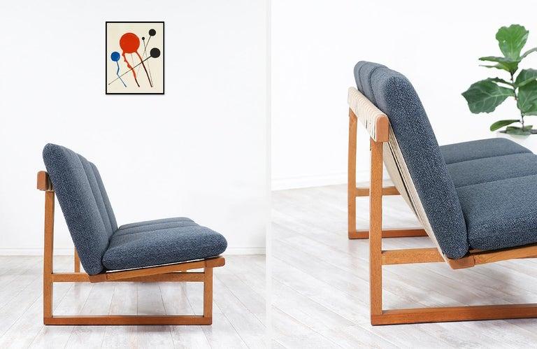 Børge Mogensen Model 211 Oak Sofa for Fredericia Stolefabrik For Sale 3