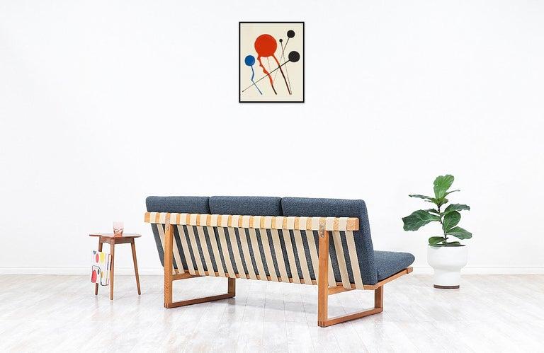 Danish Børge Mogensen Model 211 Oak Sofa for Fredericia Stolefabrik For Sale
