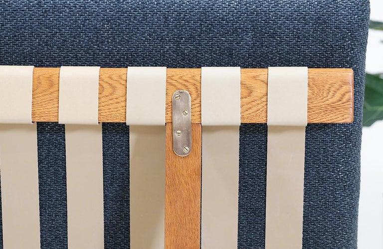 Mid-20th Century Børge Mogensen Model 211 Oak Wood Sofa for Fredericia Stolefabrik For Sale