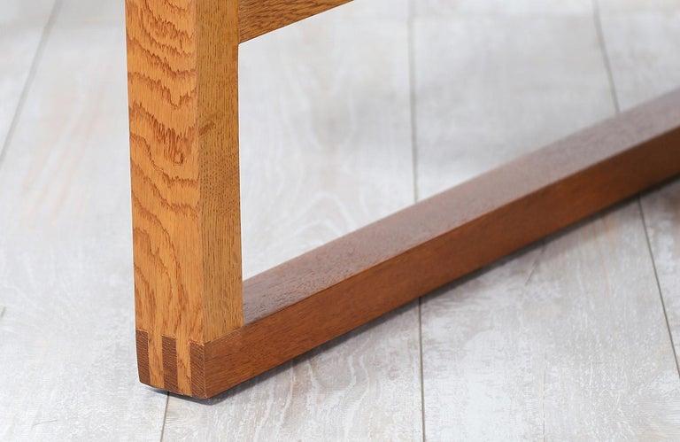 Børge Mogensen Model 211 Oak Wood Sofa for Fredericia Stolefabrik For Sale 2