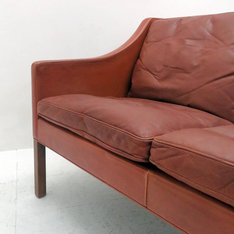 Børge Mogensen Model #2208 Two-Seat Sofa For Sale 3