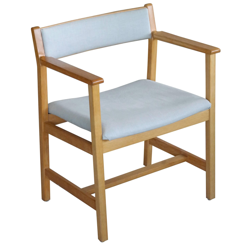 Børge Mogensen Model 3242 Oak Side or Armchair for Fredericia Stolefabrik