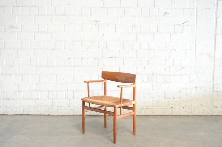 Børge Mogensen Model 537 Oresund Dining Oak Chairs for Karl Andersson Set of 4 10