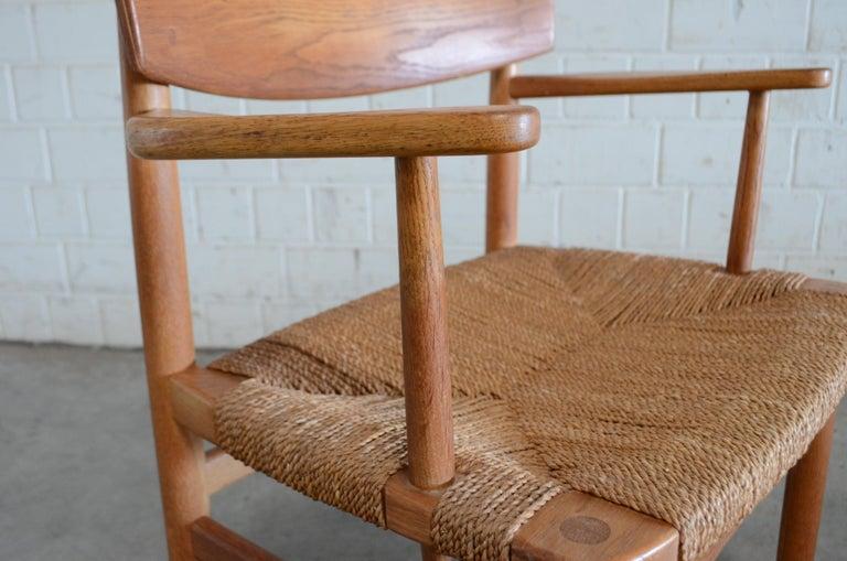 Børge Mogensen Model 537 Oresund Dining Oak Chairs for Karl Andersson Set of 4 11