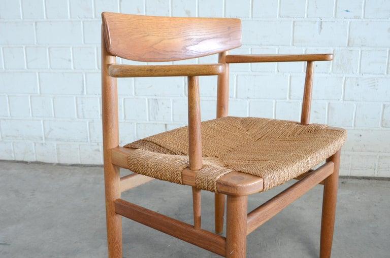 Børge Mogensen Model 537 Oresund Dining Oak Chairs for Karl Andersson Set of 4 13