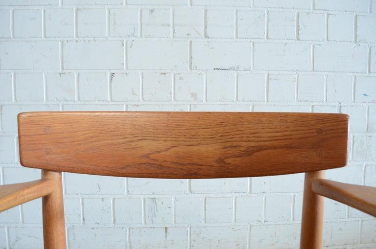 Børge Mogensen Model 537 Oresund Dining Oak Chairs for Karl Andersson Set of 4 14