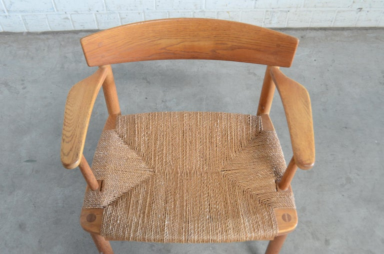 Børge Mogensen Model 537 Oresund Dining Oak Chairs for Karl Andersson Set of 4 15