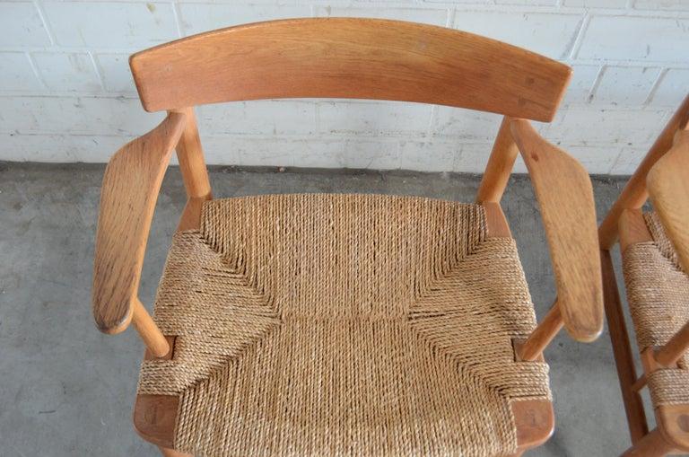 Børge Mogensen Model 537 Oresund Dining Oak Chairs for Karl Andersson Set of 4 17