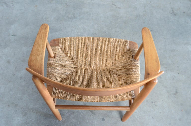Børge Mogensen Model 537 Oresund Dining Oak Chairs for Karl Andersson Set of 4 19