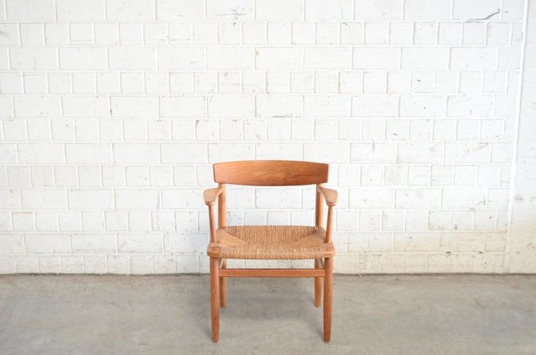 Børge Mogensen Model 537 Oresund Dining Oak Chairs for Karl Andersson Set of 4 5