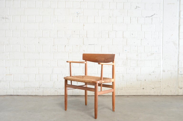 Børge Mogensen Model 537 Oresund Dining Oak Chairs for Karl Andersson Set of 4 6