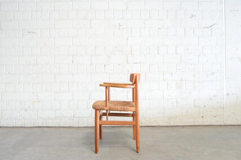 Børge Mogensen Model 537 Oresund Dining Oak Chairs for Karl Andersson Set of 4 7
