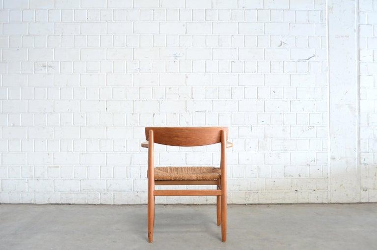 Børge Mogensen Model 537 Oresund Dining Oak Chairs for Karl Andersson Set of 4 9