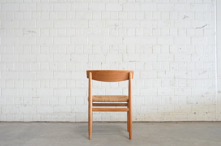 Børge Mogensen Model 537 Oresund Pair of Dining Oak Chairs for Karl Andersson 10