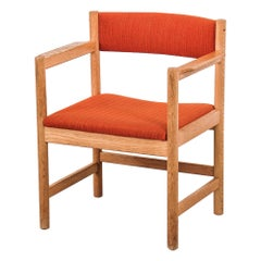 Børge Mogensen Model 575 Oak Armchair from Karl Andersson & Söner, 1960s