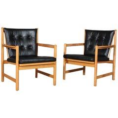 Børge Mogensen Pair of Armchairs