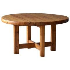 Børge Mogensen, Rare Dining Table, Pine, Karl Andersson & Söner, 1960s Sweden