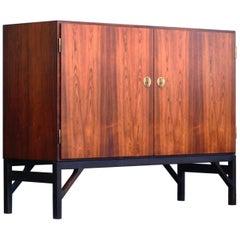 Børge Mogensen Rare Rosewood Cabinet/Credenza Mod. 232 FDB Møbler DK 1960s
