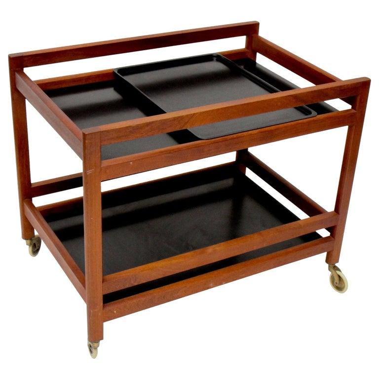 Børge Mogensen Serving Cart, Model 5370 For Sale