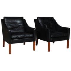 Børge Mogensen Set of Lounge Chairs