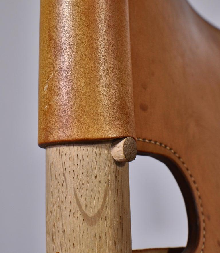 Børge Mogensen Set of Oak and Leather