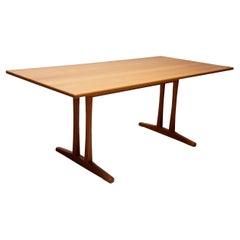 """Børge Mogensen """"Shaker"""" Solid Oak Dining Table"""