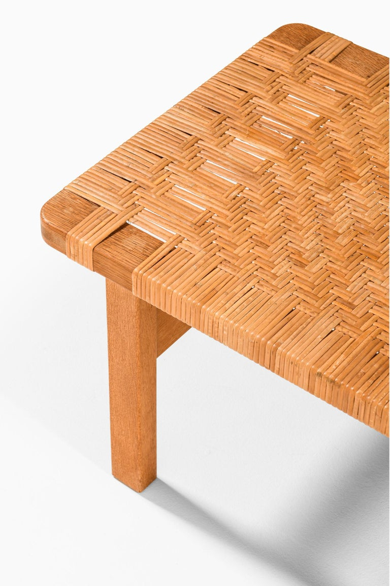 Børge Mogensen Side Tables or Benches Model 5273 by Fredericia Stolefabrik In Good Condition For Sale In Malmo, SE