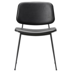 Børge Mogensen Soborg Chair – Steel Frame, Seat & Back Upholstered