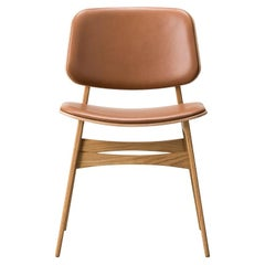 Børge Mogensen Soborg Chair – Wood Frame, Seat & Back Upholstered