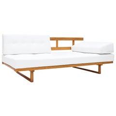Børge Mogensen Sofa / Daybed Model 4311/4312 in Pierre Frey, Fredericia, Denmark