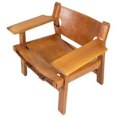 Børge Mogensen Spanish Chair, Denmark, 1960s